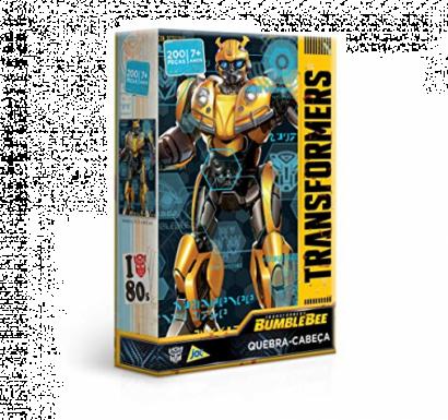 Quebra-Cabeça Transformers Bumblebee 200 peças - Jak