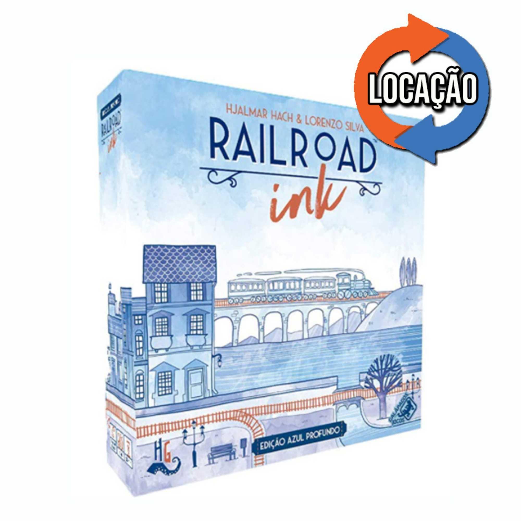 Railroad Ink: Azul Profundo (Locação)