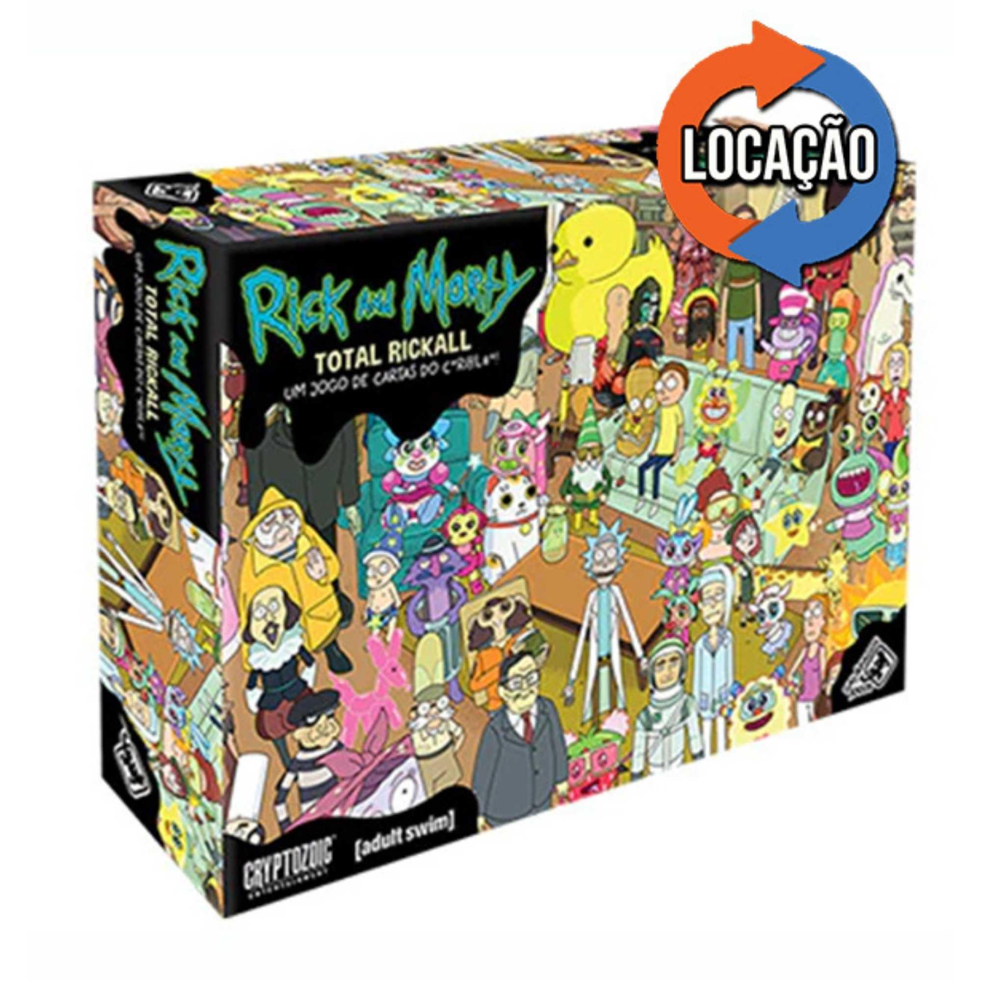 Rick and Morty: Total Rickall (Locação)