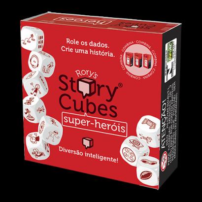 Rory's Story Cubes Super-Heróis - Diversão Inteligente