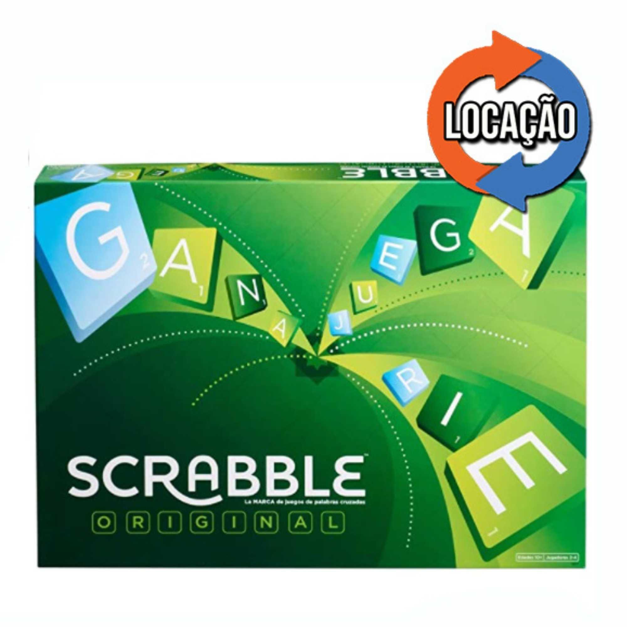 Scrabble Original - Mattel (Locação)