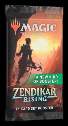Set Booster Avulso Renascer de Zendikar (Inglês) Magic: the Gathering