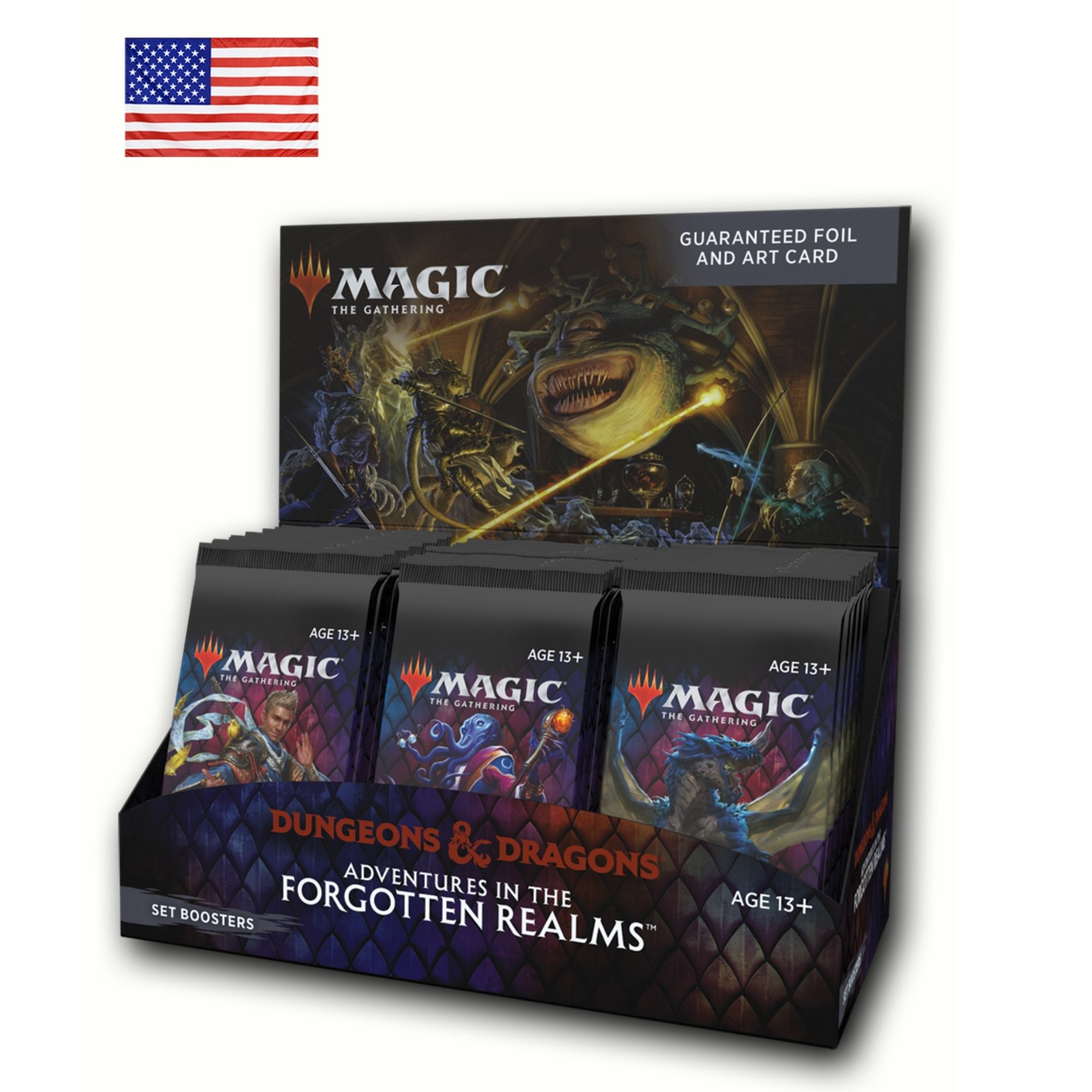Set Booster Box Adventures in the Forgotten Realms (Inglês)