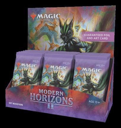 Set Booster Box Modern Horizons 2 (Inglês) Magic: the Gathering
