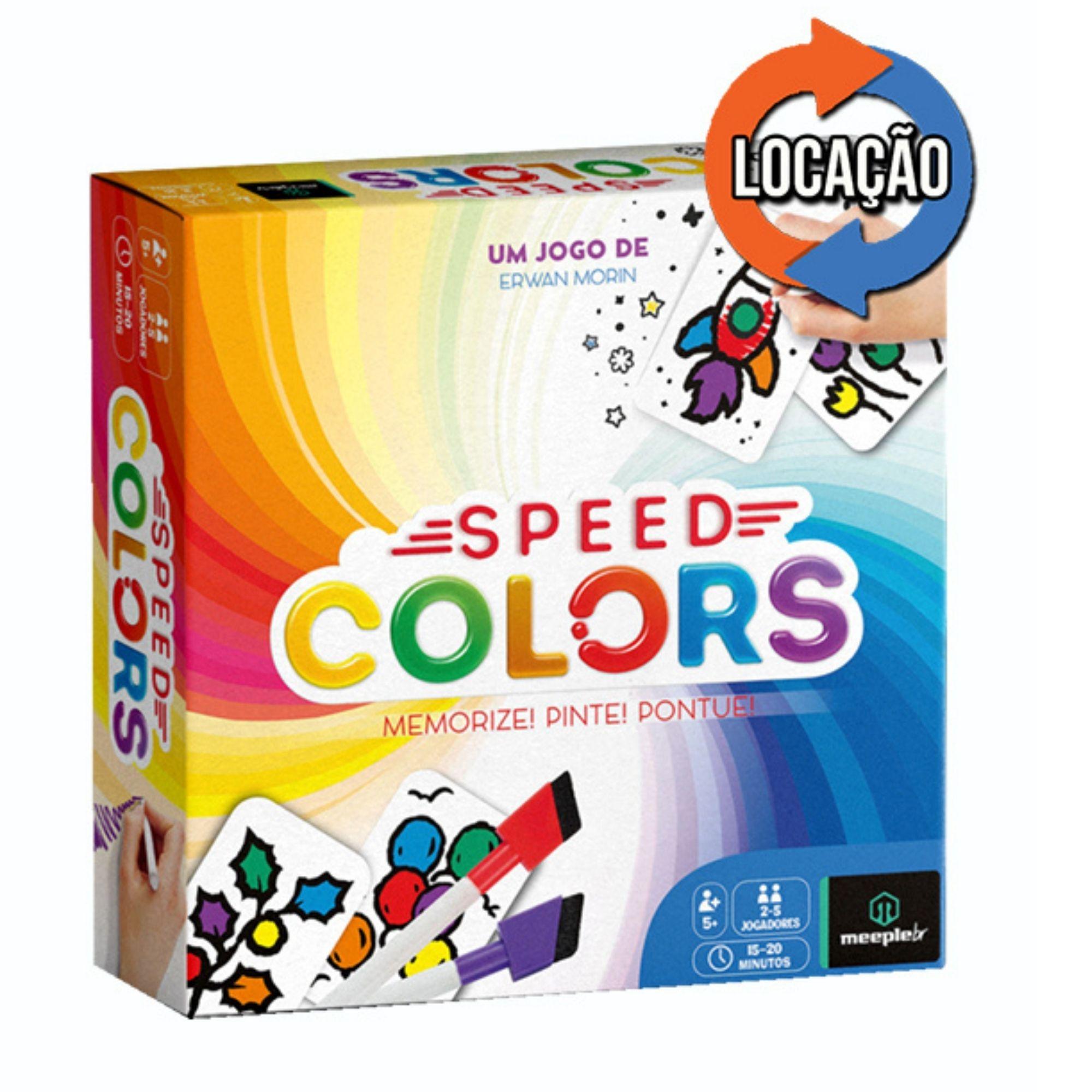 Speed Colors (Locação)
