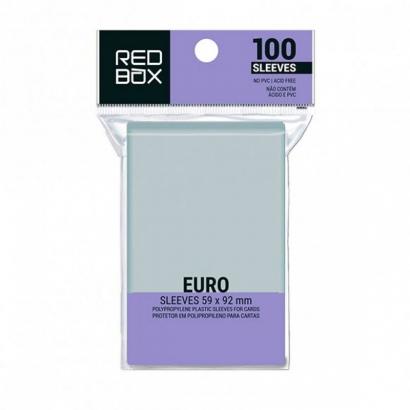 Standard Euro 59mm x 92mm - 100 unid - Board Game Shield Protetor - RedBox