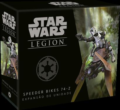 Star Wars: Legion: Speeder Bikes 74-Z - Expansão de Unidade Wave 0