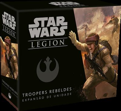 Star Wars: Legion Troopers Rebeldes - Expansão de Unidade Wave 0