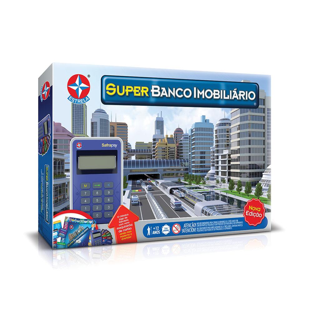 Super Banco Imobiliário com Máquina Safrapay