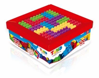 Super Caixa Com 120 Peças - Tand Kids