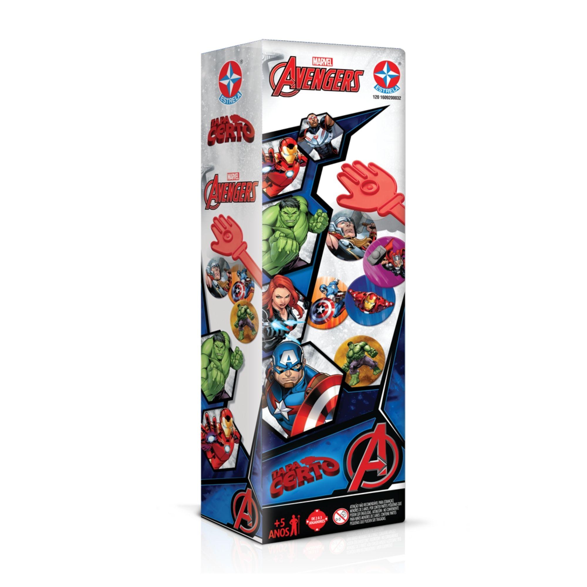 Tapa Certo Vingadores Avengers