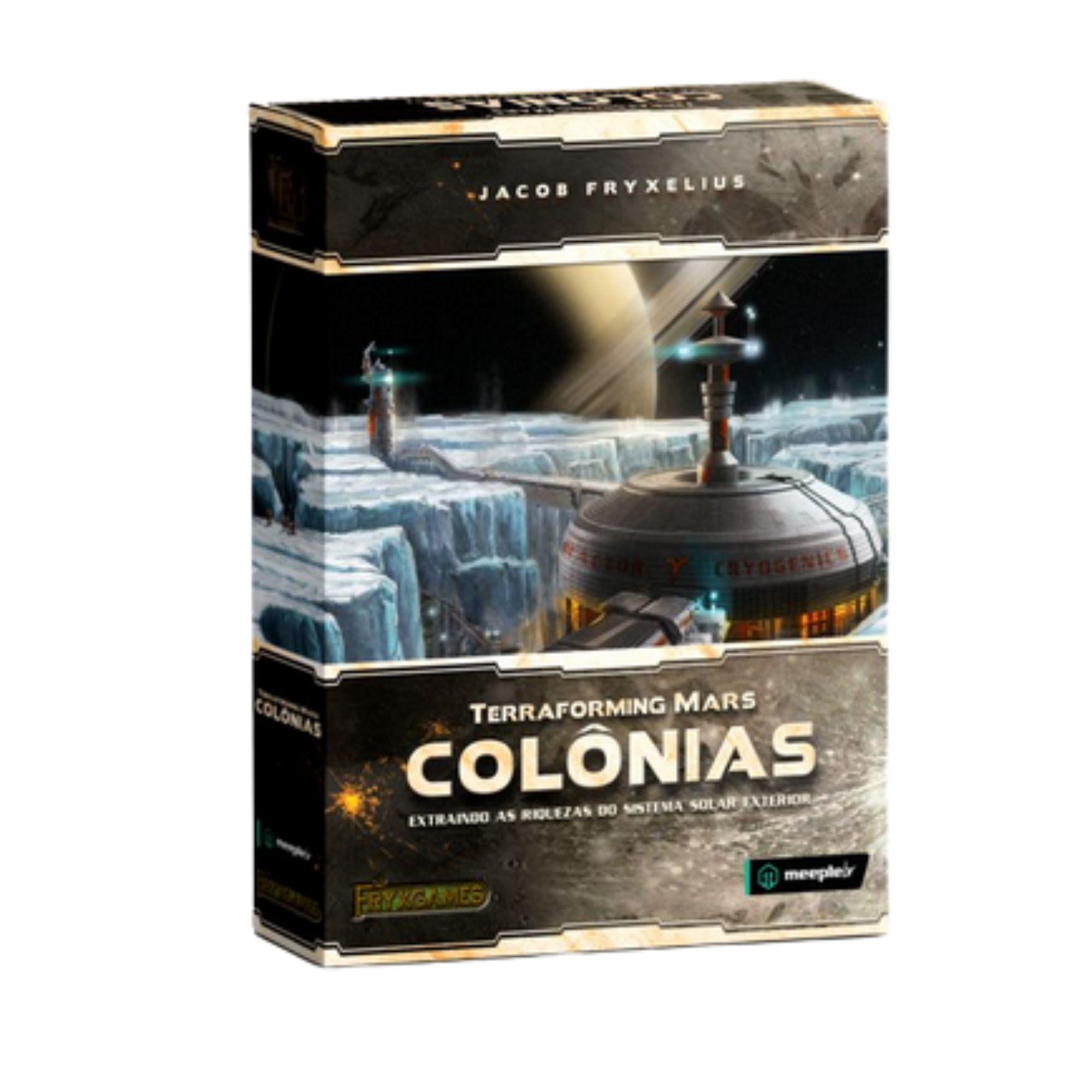 Terraforming Mars: Colônias - Expansão