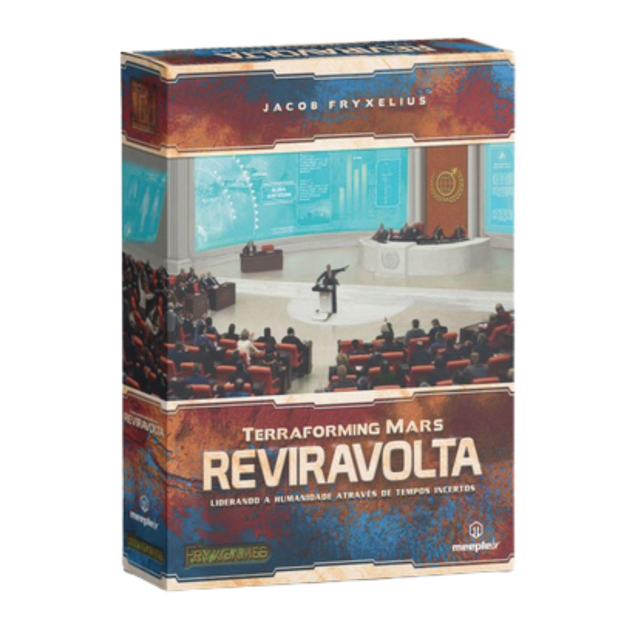 Terraforming Mars: Reviravolta - Expansão