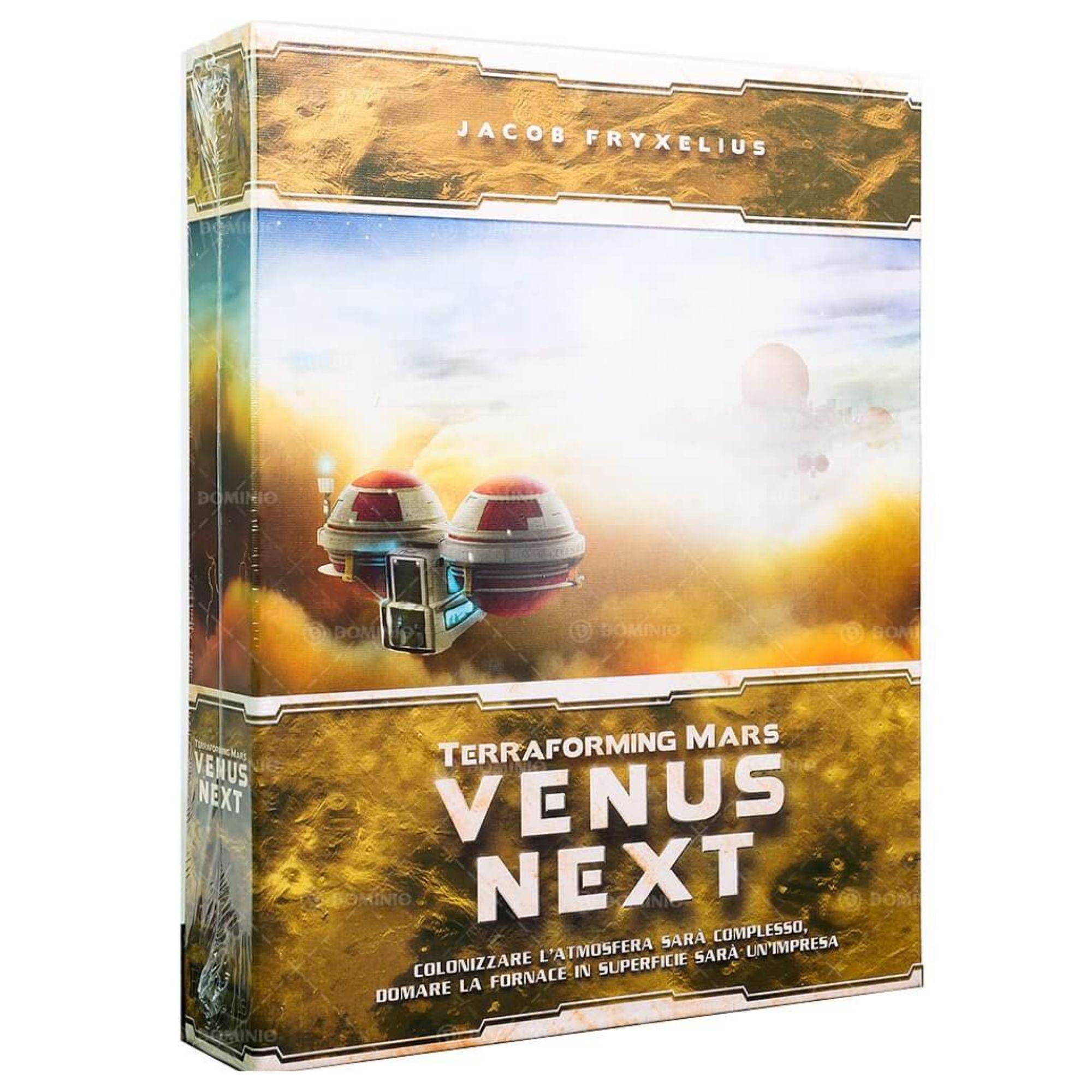 Terraforming Mars: Vênus Next - Expansão
