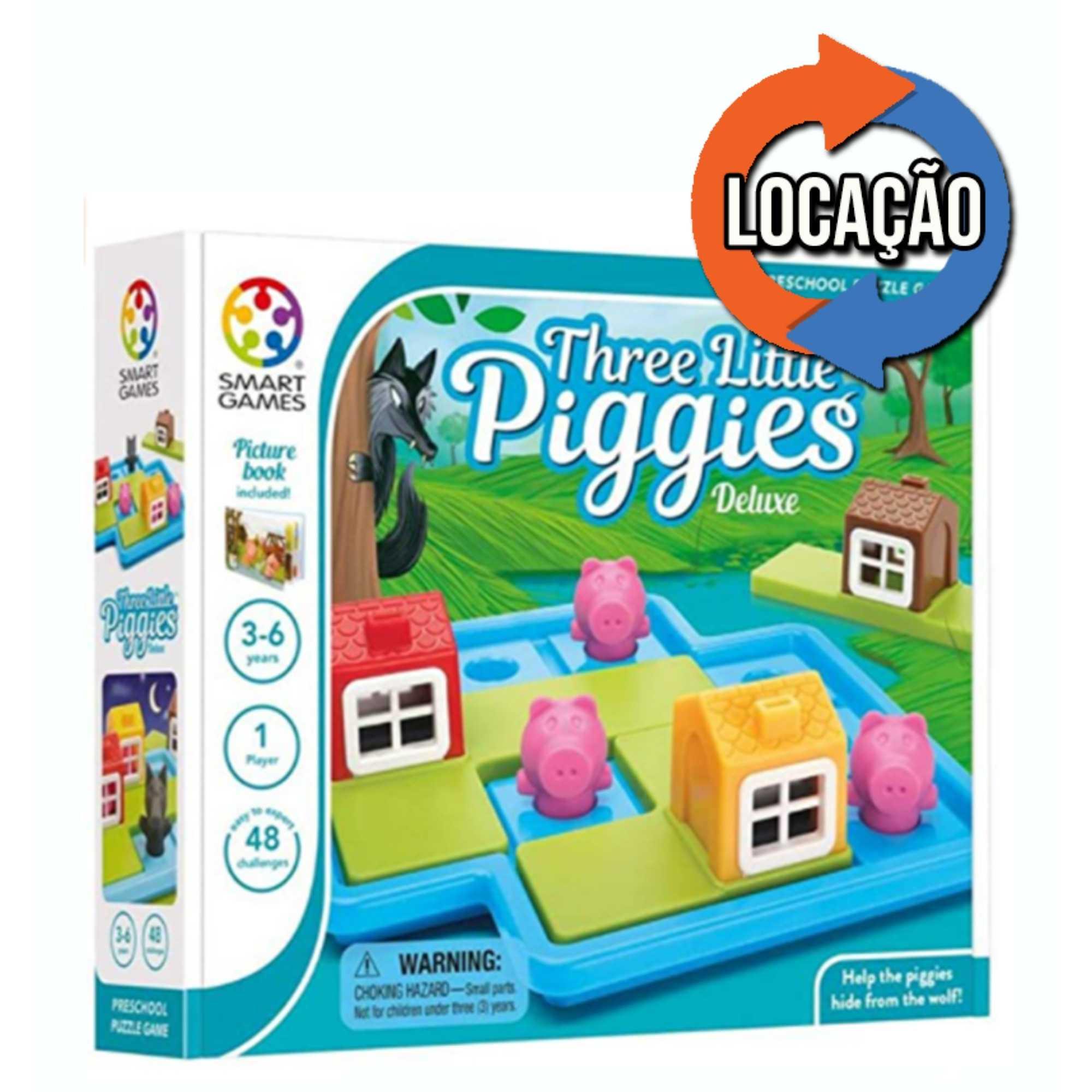 Three Little Piggies Deluxe - Smartgames (Locação)