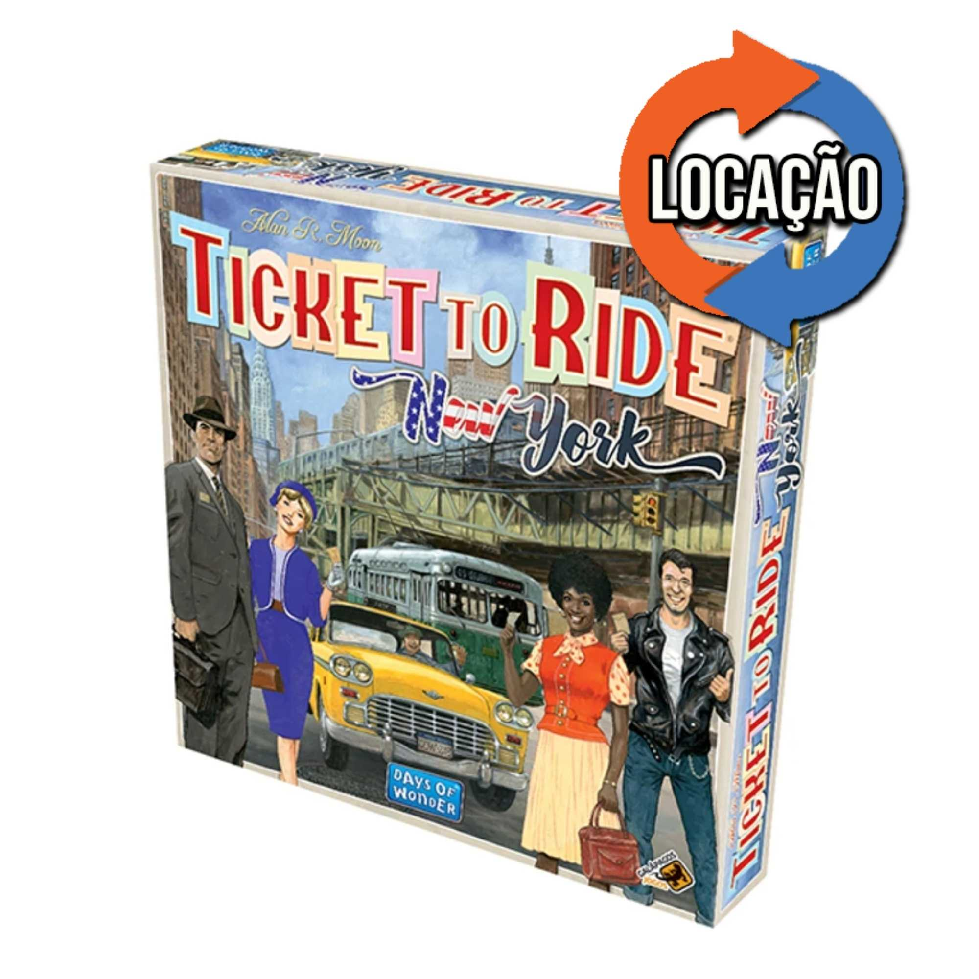 Ticket to Ride New York (Locação)