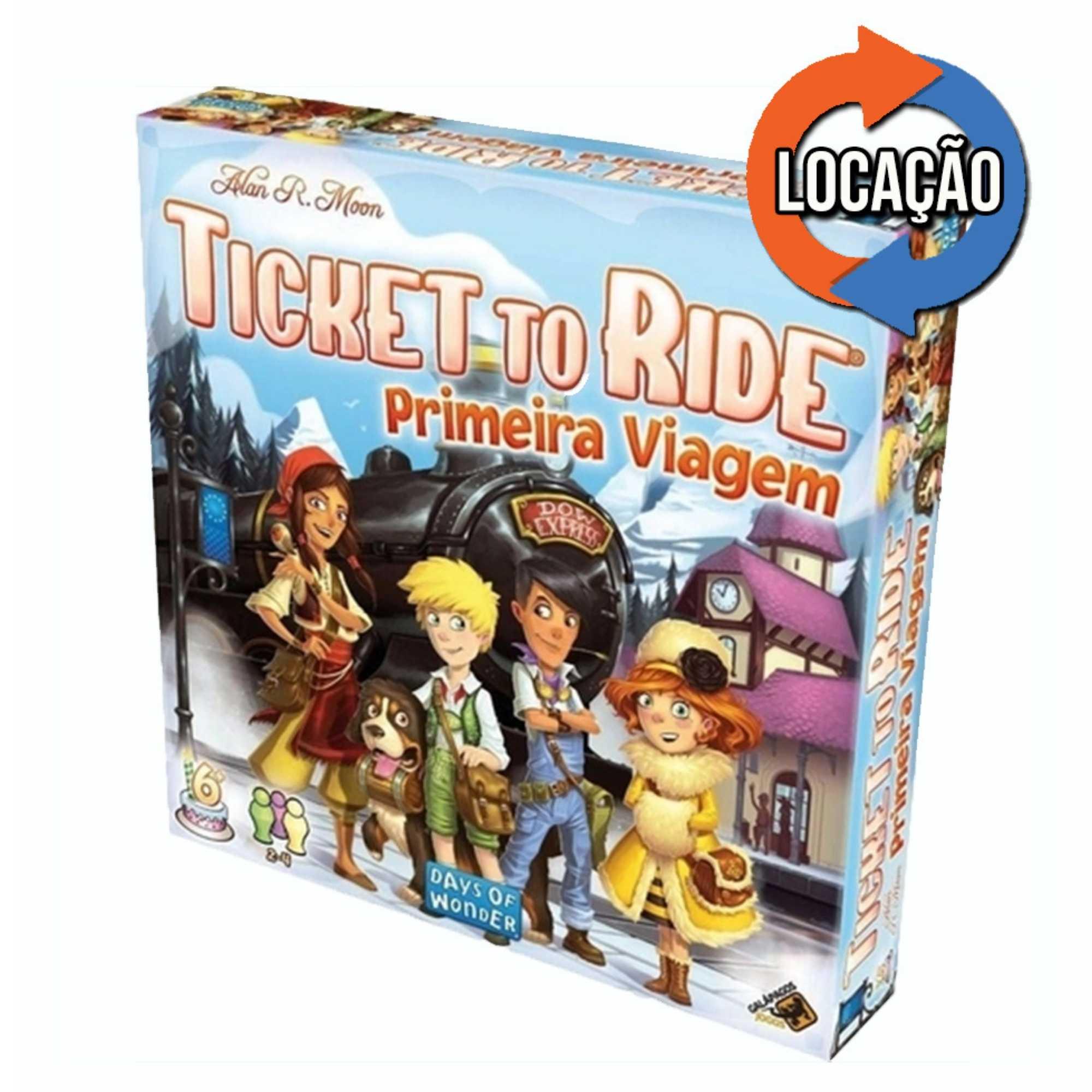 Ticket to Ride: Primeira Viagem (Locação)