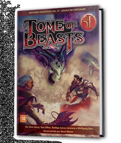 Tome of Beasts: Bestiário Fantástico (Vol. 01)