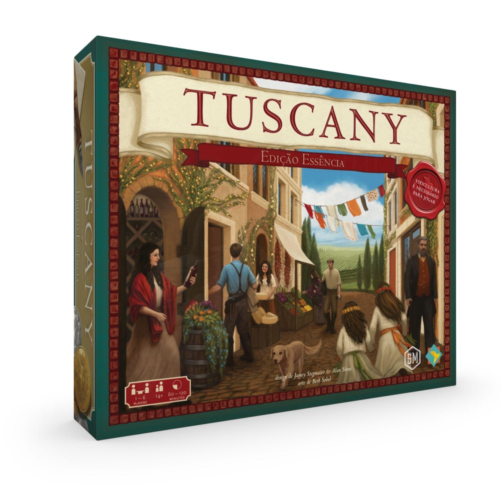 Viticulture: Tuscany Edição Essencial - Expansão