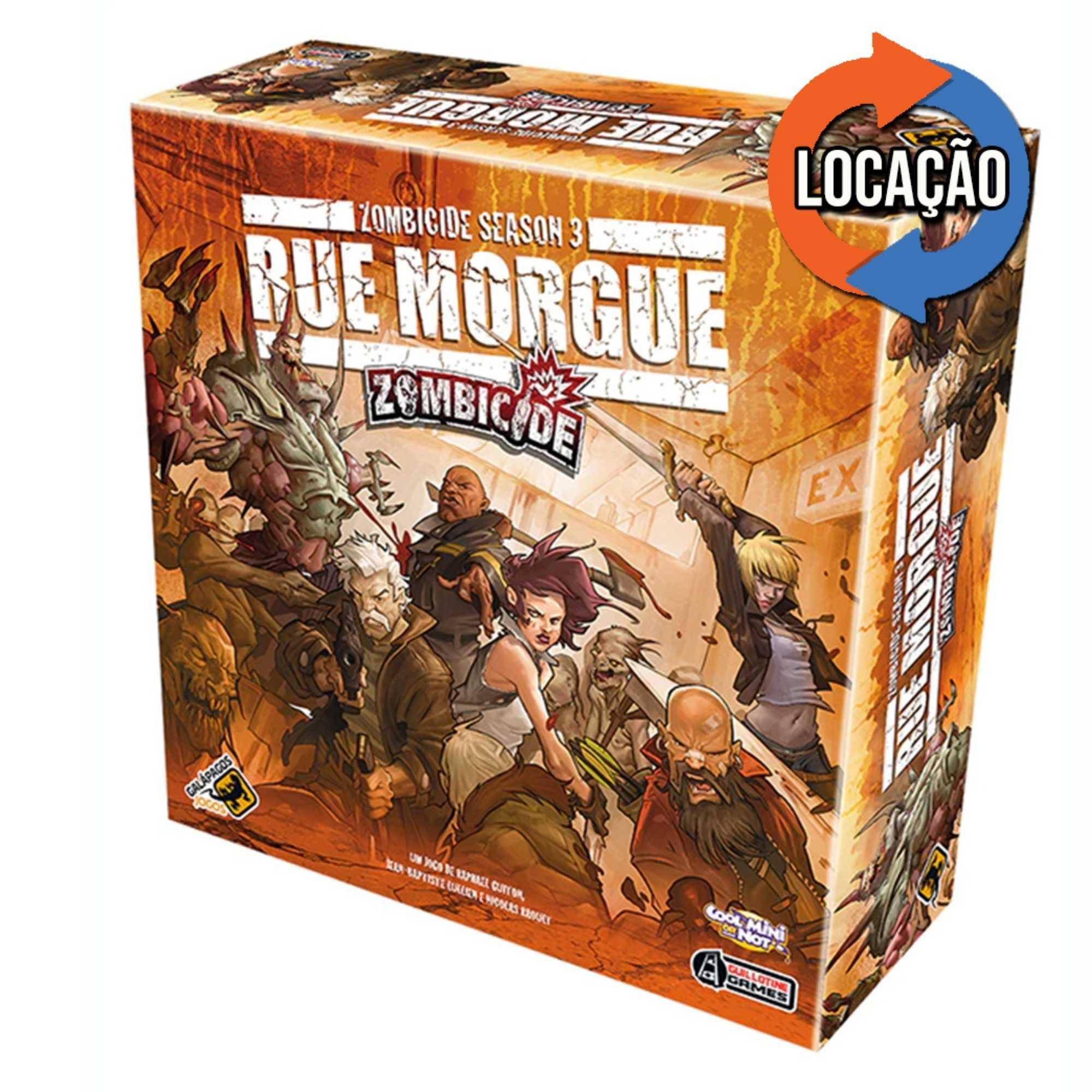Zombicide Rue Morgue Season 3 (Locação)
