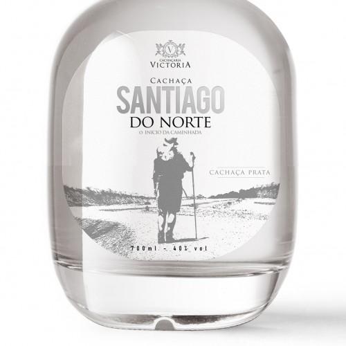 Cachaça Santiago do Norte edição comemorativa 700ml