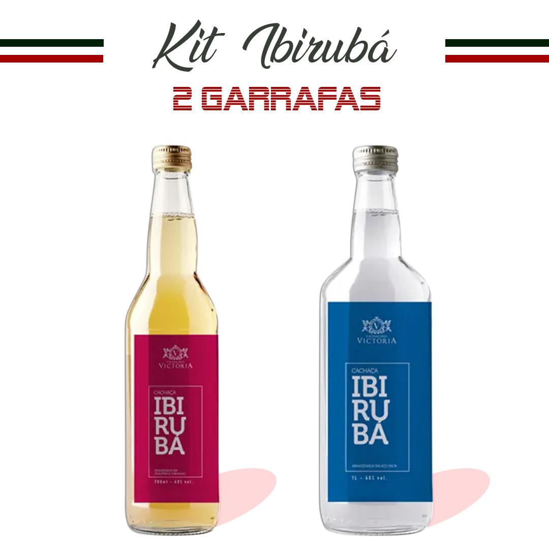 Kit  2 Garrafas Ibirubá
