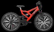 Bicicleta Status Aero FULL Fullsion Aro 26 18V V-Brake Laranja Neon