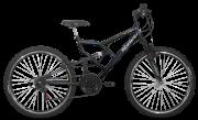 Bicicleta Status Aero FULL Fullsion Aro 26 18V V-Brake Preto Brilhante