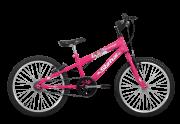 Bicicleta Status Belíssima Aro 20 1V V-Brake Rosa Barbie