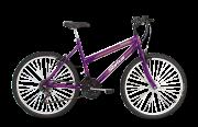 Bicicleta Status Belissima Aro 26 18V V-Brake Violeta