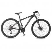 Bicicleta Status Big Evolution 4.0 Aro 29 27V Disk Brake Preto/Cinza - Black Edition