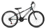 Bicicleta Status Big Evolution Freeride Aro 26 21V V-Brake Preto Fosco