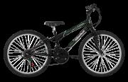 Bicicleta Status Lenda Aro 24 18V V-Brake Preto Brilhante