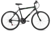Bicicleta Status Lenda Aro 26 18V V-Brake Preto Fosco