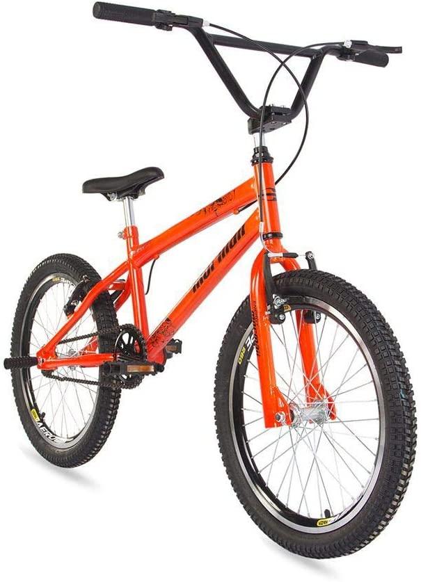 Bicicleta Mormaii Cross Energy Aro 20 1V V-Brake Laranja