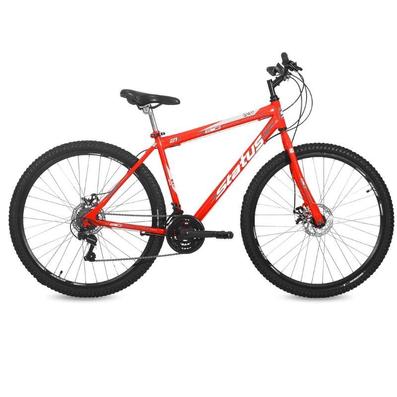 Bicicleta Status Big Evolution Aro 29 21V Disk Brake Laranja Neon