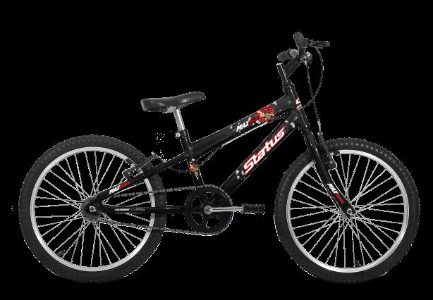 Bicicleta Status Max Force Aro 20 1V V- Brake Preto