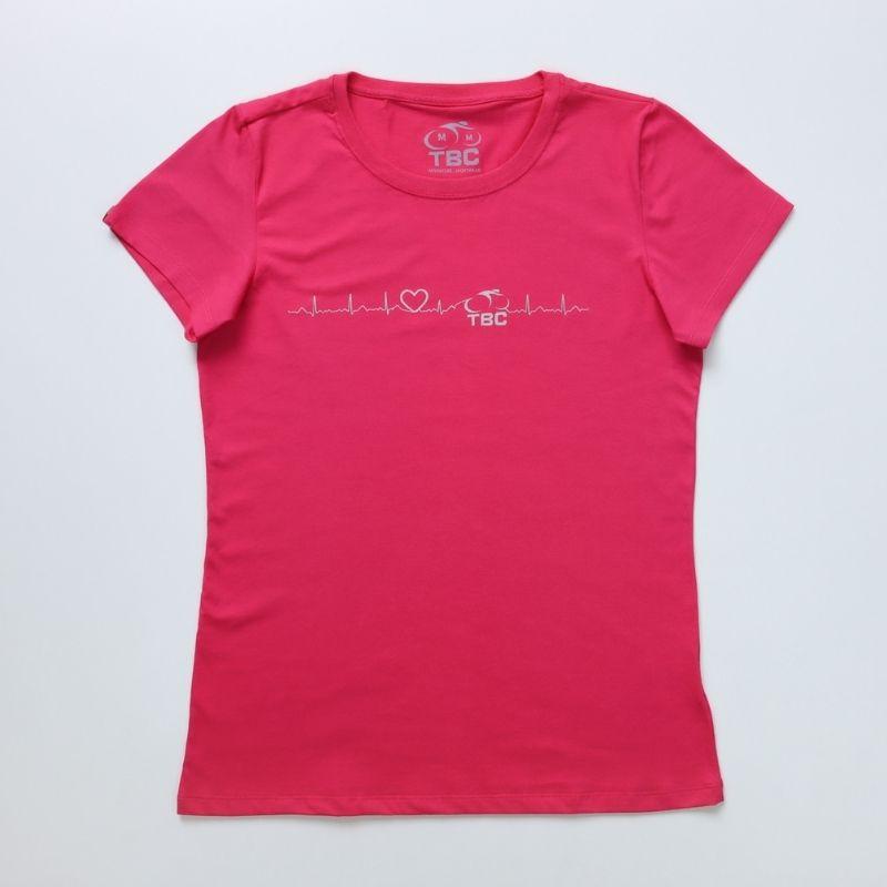 Camiseta Feminina Energy Bike Pink Bicicleta Ciclismo