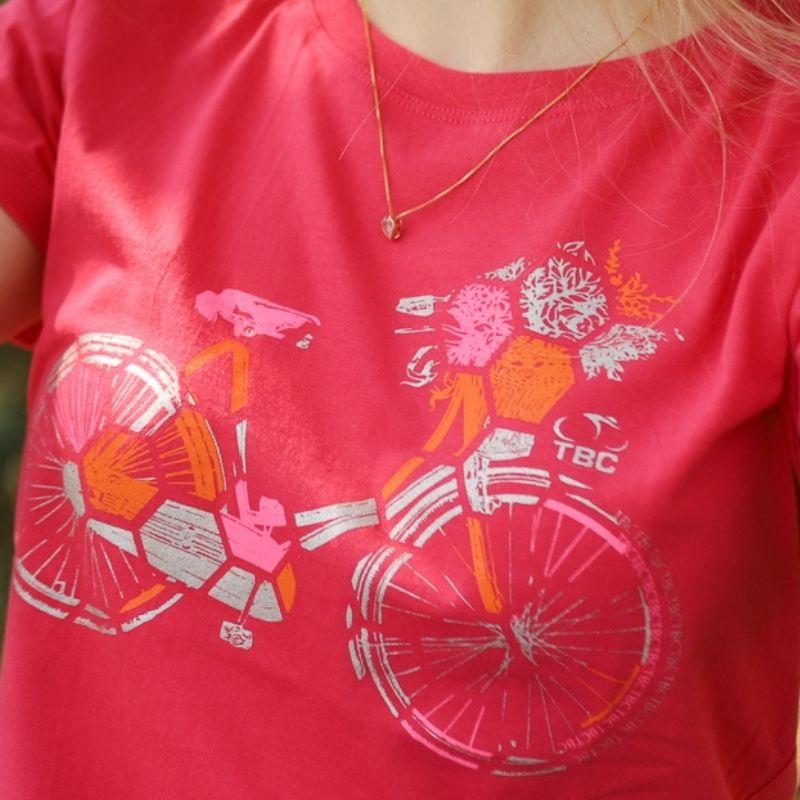 Camiseta Feminina Urban Bike Pink Bicicleta Ciclismo