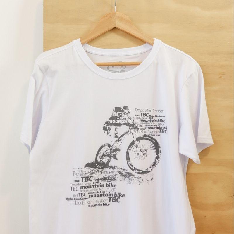 Camisa Mountain Bike Branca Bicicleta Ciclismo
