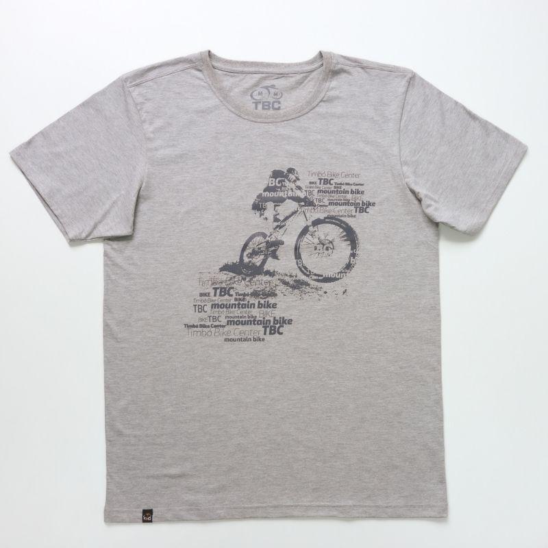 Camisa Mountain Bike Cinza Mescla Bicicleta Ciclismo