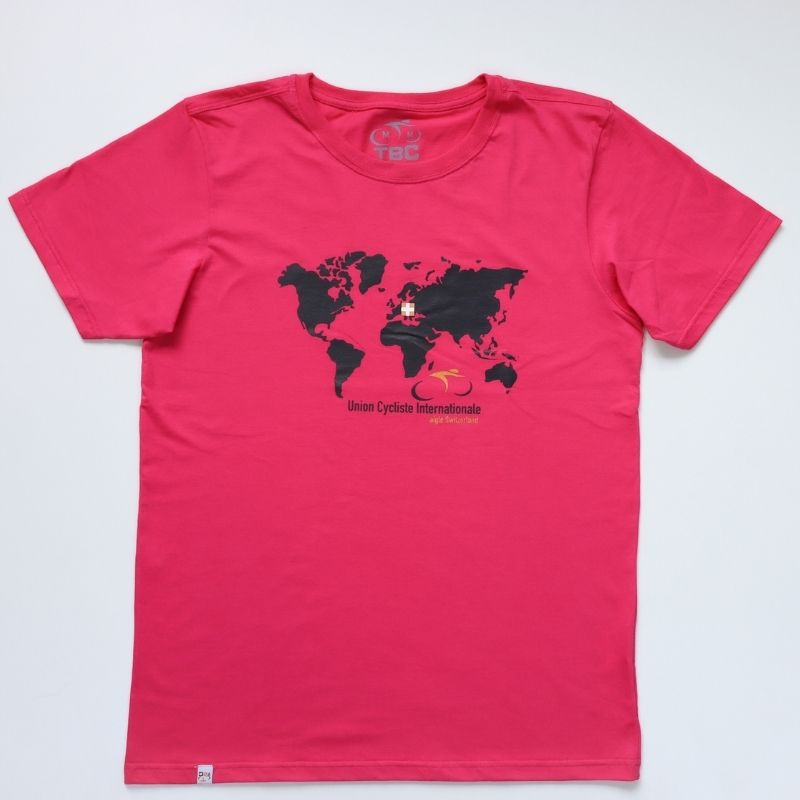 Camiseta Unyon Cycles Bike Pink Bicicleta Ciclismo