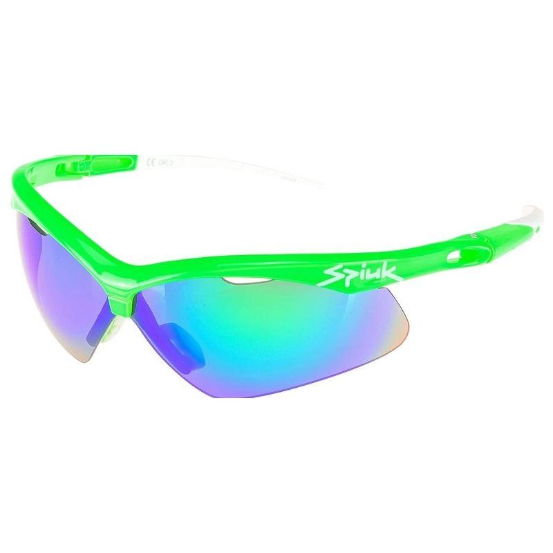 Óculos para Ciclismo Spiuk Ventix 3 Lentes Verde