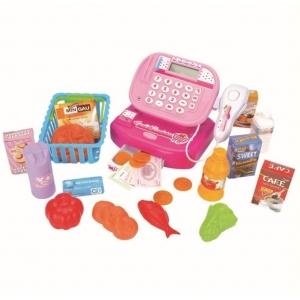 Brinquedo Caixa Registradora Mercadinho Rosa - Fênix