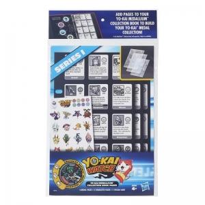 Conjunto Refil - Páginas De Coleção - Yo-Kai