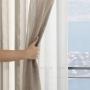 Cortina pratika tecido sorrento nude 4,20x250 - Bella Janela
