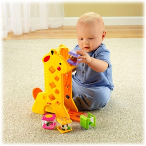 Girafa com Blocos - Fisher Price