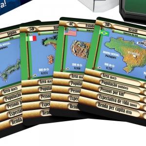 Jogo cartas trunfo paises - Grow