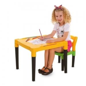 Kit Mesa e Cadeira Infantil Viva Estudar - Dismat