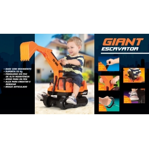 Mini Veículo - Giant Escavator